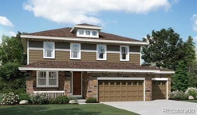 Aurora Single Family Home Active: 6631 South Addison Way