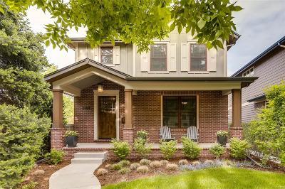 Denver Single Family Home Active: 1468 South Clarkson Street