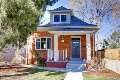 Denver CO Single Family Home Active: $599,900