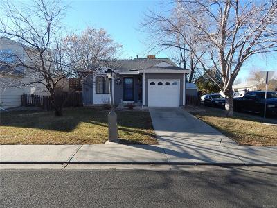 Longmont Single Family Home Under Contract: 1845 Sumner Street