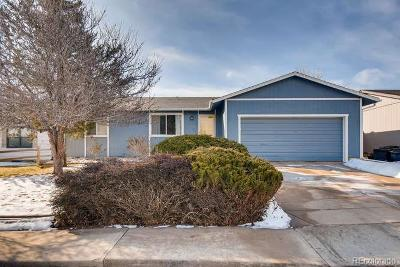 Broomfield Single Family Home Under Contract: 3340 Princess Circle