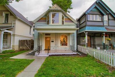Denver Single Family Home Under Contract: 2013 North Ogden Street