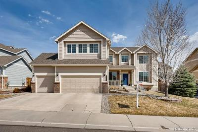 Castle Rock Single Family Home Under Contract: 3334 Cremello Court