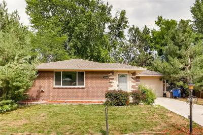 Arvada Single Family Home Active: 5990 Field Street