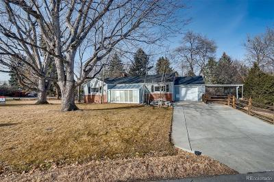 Wheat Ridge Single Family Home Active: 4101 Carr Street