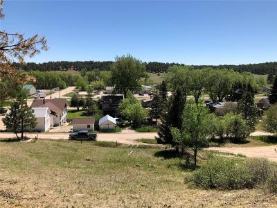Elbert CO Residential Lots & Land Active: $75,000