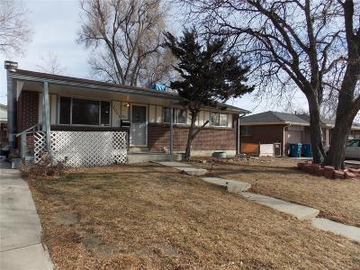 Denver Single Family Home Active: 1001 Coronado Parkway