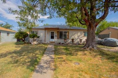 Denver Single Family Home Active: 1088 South Canosa Court