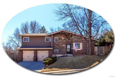 Centennial Single Family Home Under Contract: 3588 East Davies Avenue