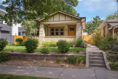 Denver Single Family Home Under Contract: 1682 South Lafayette Street
