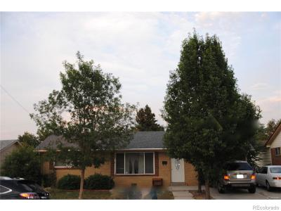Denver Single Family Home Active: 2672 South Meade Street