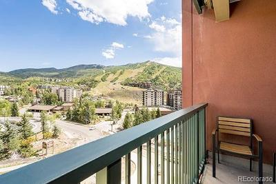 Steamboat Springs Condo/Townhouse Active: 2300 Mount Werner Circle #618