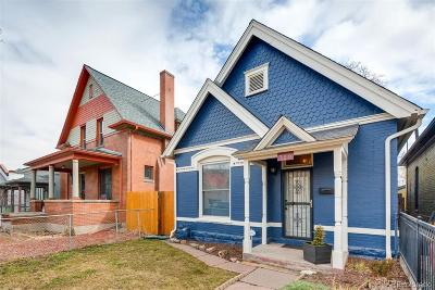 Denver Single Family Home Under Contract: 720 Fox Street