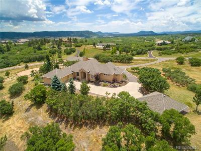 Castle Rock CO Single Family Home Under Contract: $1,090,000
