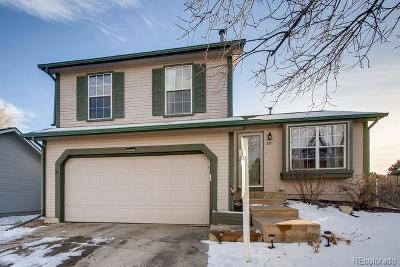 Broomfield Single Family Home Under Contract: 337 Mulberry Circle