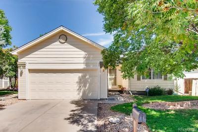 Thornton Single Family Home Active: 13503 Monroe Street