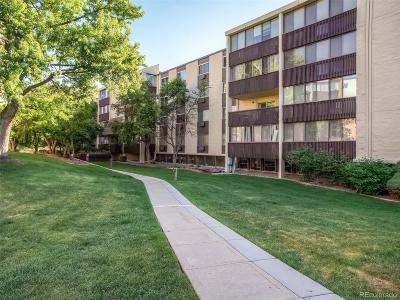 Condo/Townhouse Sold: 7040 East Girard Avenue #402