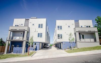 Denver Condo/Townhouse Under Contract: 435 South Forest Street #4