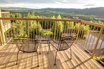 Steamboat Springs Condo/Townhouse Active: 2602 Longthong Road #207