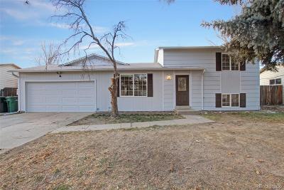 Aurora, Denver Single Family Home Under Contract: 3207 South Idalia Street