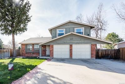 Arvada Single Family Home Active: 7829 Dover Court