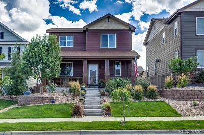 Castle Rock Single Family Home Active: 3788 Cadence Drive