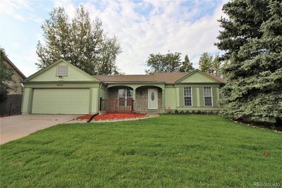 Centennial Single Family Home Active: 20998 East Dorado Circle