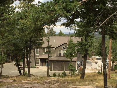 Conifer Single Family Home Under Contract: 13272 Riley Peak Road