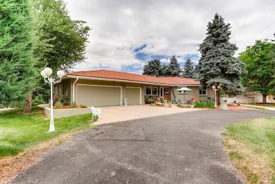 Littleton Single Family Home Under Contract: 3 Meadowbrook Circle