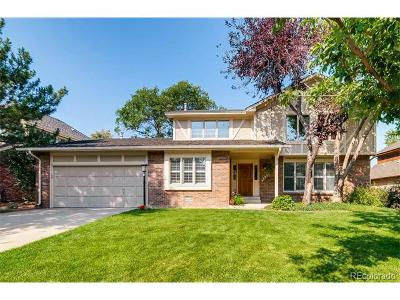 Aurora Single Family Home Active: 4923 South Dillon Street