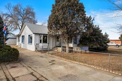 Commerce City Single Family Home Active: 7197 Cherry Street