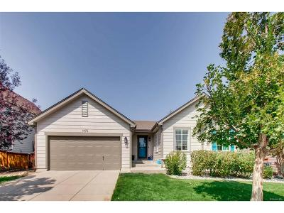Longmont Single Family Home Under Contract: 1475 Serenity Circle