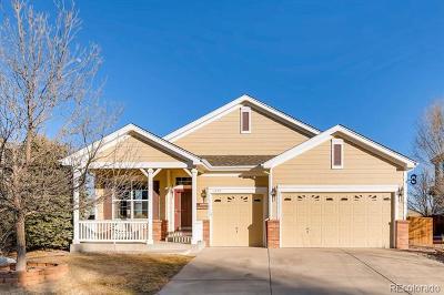 Castle Rock Single Family Home Under Contract: 1757 Baguette Drive