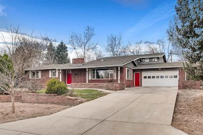 Greeley Single Family Home Under Contract: 1955 18th Avenue