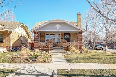 Denver County Single Family Home Active: 592 South Clarkson Street