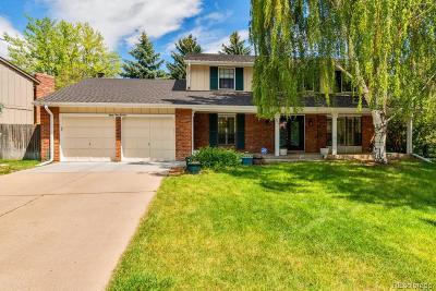 Centennial Single Family Home Active: 8414 East Jamison Circle