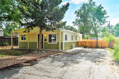Mar Lee Single Family Home Under Contract: 1130 South Vrain Street