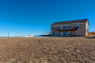 Kiowa Single Family Home Under Contract: 8420 Private Rd 144