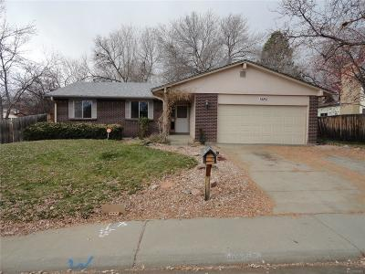 Evergreen, Arvada, Golden Single Family Home Under Contract: 8692 West 84th Circle