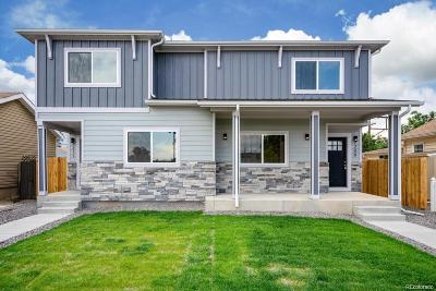Denver Condo/Townhouse Active: 2211 South Fox Street