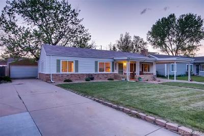 Denver Single Family Home Active: 2749 South Glencoe Street