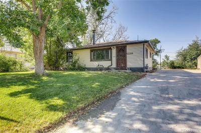 Commerce City Single Family Home Active: 6990 Garden Court