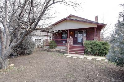 Lakewood Single Family Home Active: 1160 Van Gordon Street