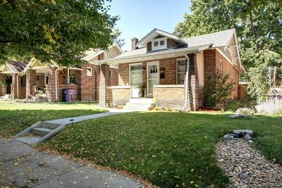 Denver Single Family Home Active: 1245 Garfield Street