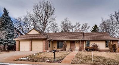Denver Single Family Home Under Contract: 4171 South Narcissus Way