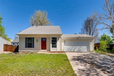 Aurora, Denver Single Family Home Active: 19229 East 22nd Drive