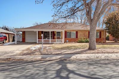 Aurora Single Family Home Active: 1220 Scranton Street