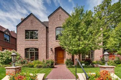 Denver Single Family Home Active: 865 South Cove Way