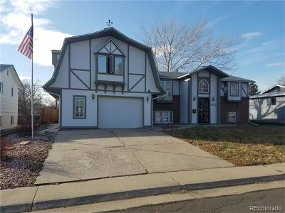 Westminster Single Family Home Active: 7521 Wolff Street