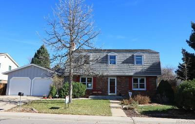 Littleton Single Family Home Active: 6214 South Eaton Court